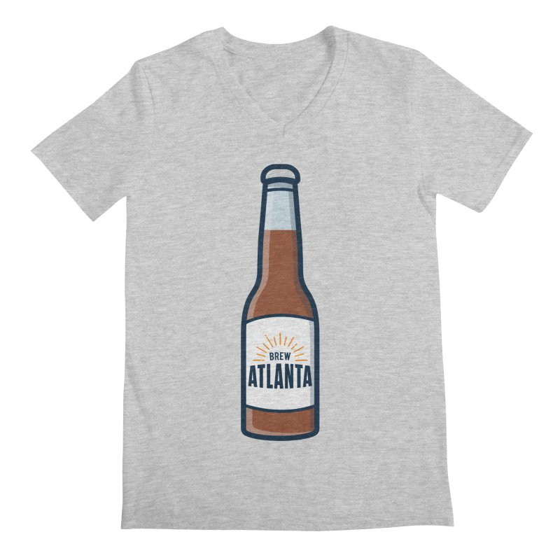 Brew Atlanta Men's Regular V-Neck by