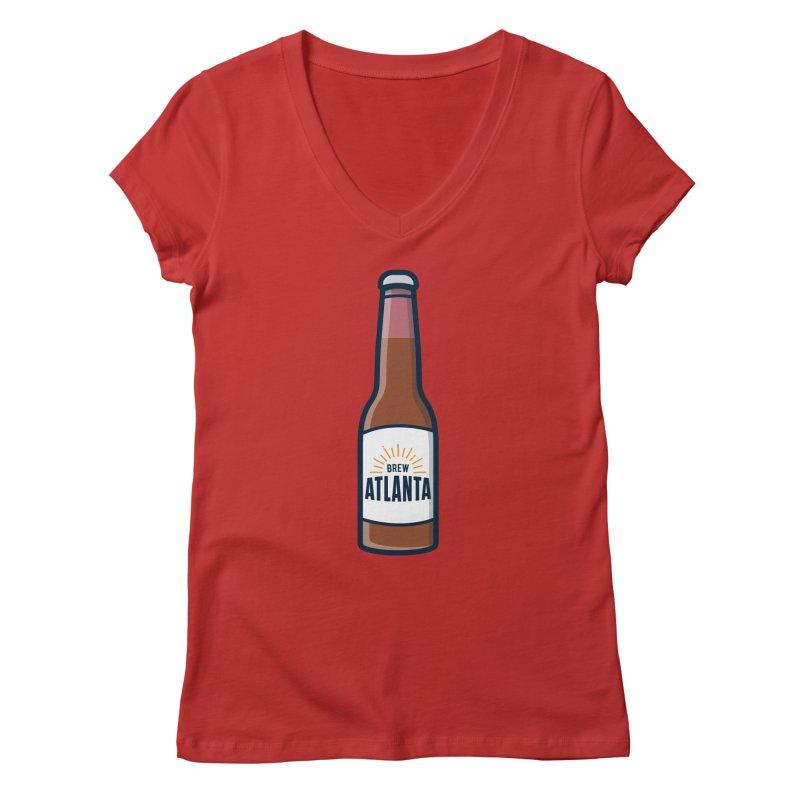 Brew Atlanta Women's V-Neck by