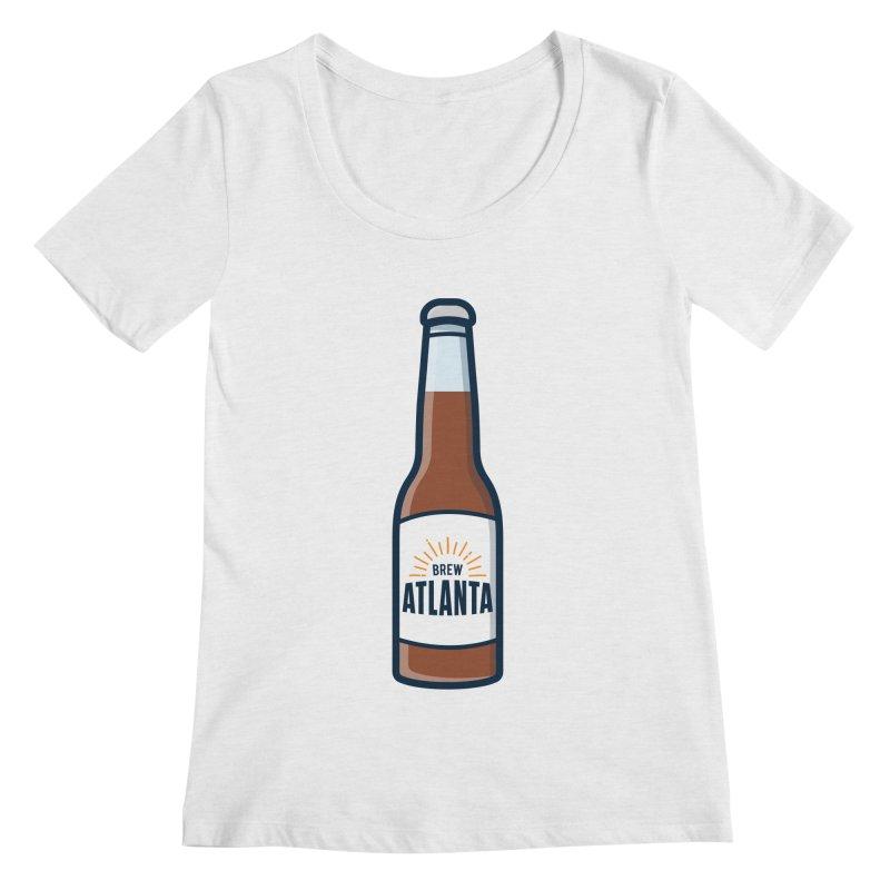 Brew Atlanta Women's Regular Scoop Neck by