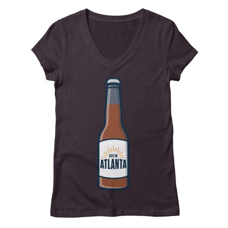 Brew Atlanta Women's Regular V-Neck by