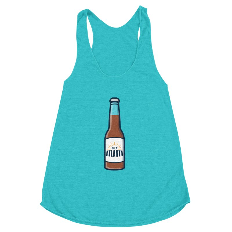Brew Atlanta Women's Racerback Triblend Tank by