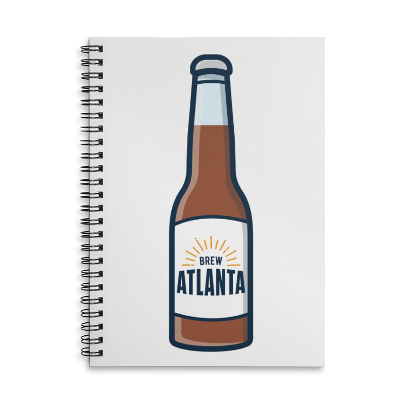 Brew Atlanta Accessories Lined Spiral Notebook by