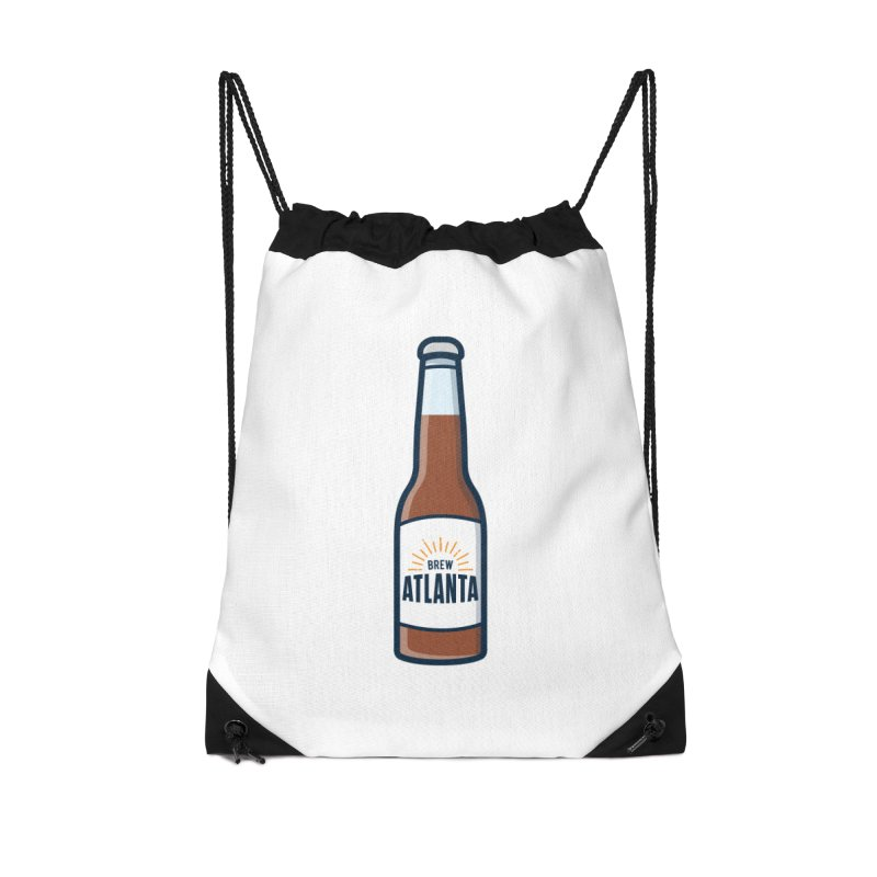 Brew Atlanta Accessories Drawstring Bag Bag by