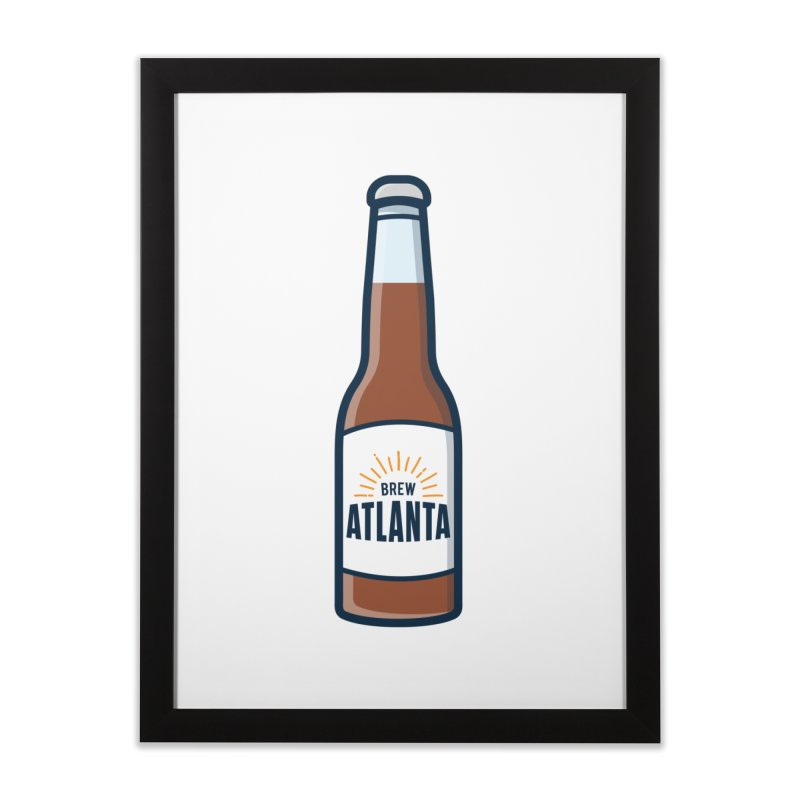 Brew Atlanta Home Framed Fine Art Print by