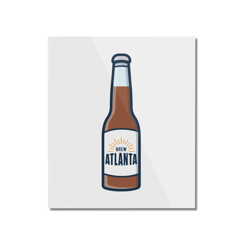 Brew Atlanta Home Mounted Acrylic Print by