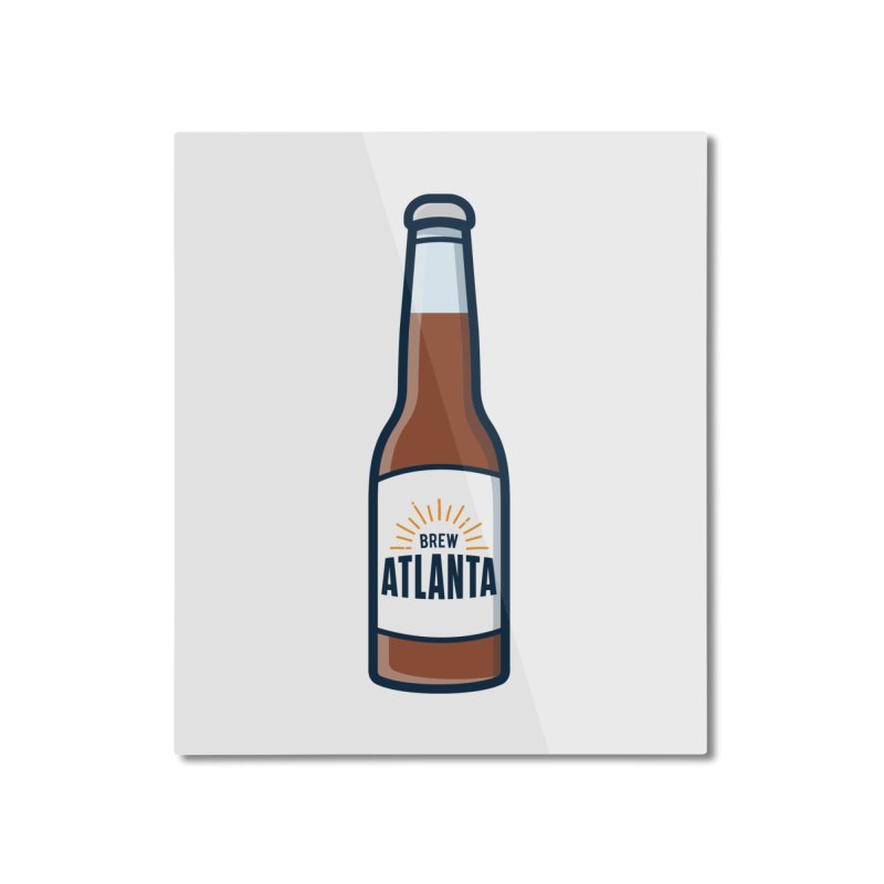 Brew Atlanta Home Mounted Aluminum Print by