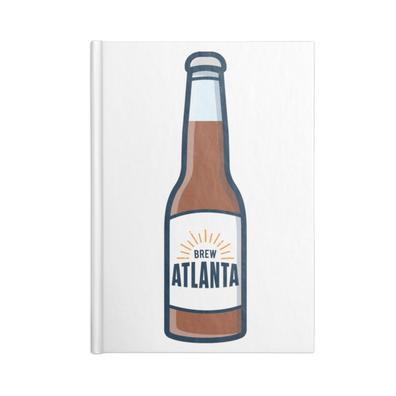 Brew Atlanta Accessories Lined Journal Notebook by