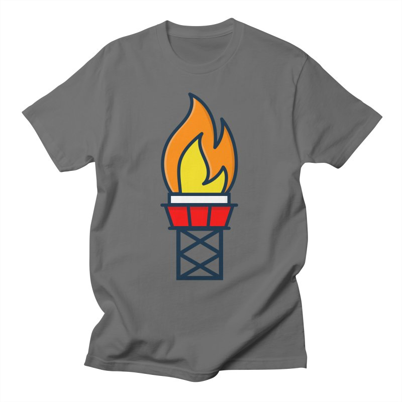Olympic Torch Men's T-Shirt by