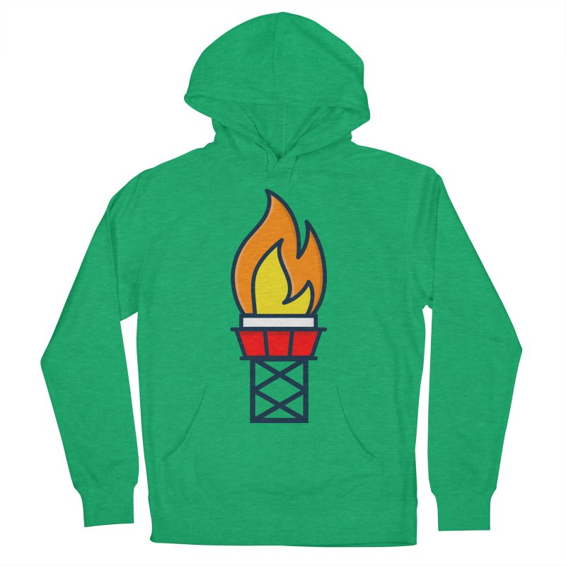 Olympic Torch Women's French Terry Pullover Hoody by
