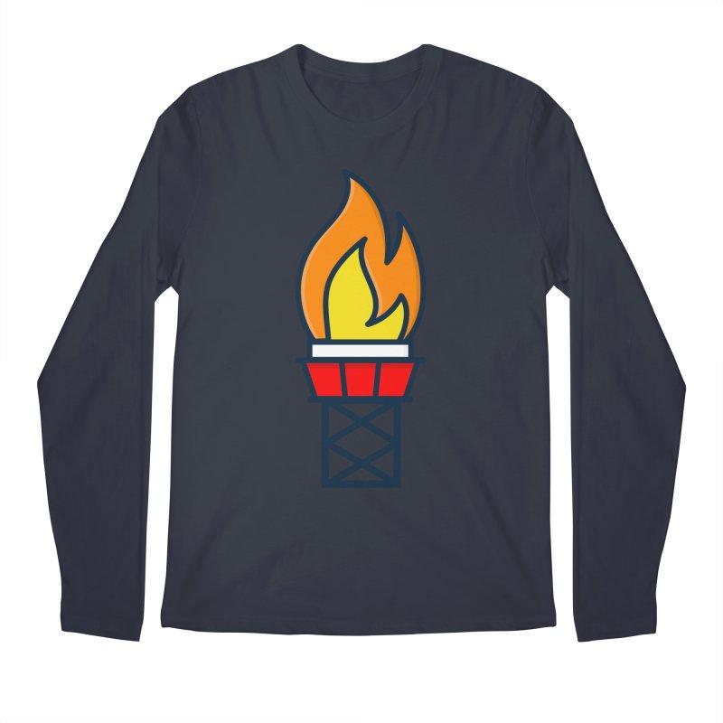 Olympic Torch Men's Regular Longsleeve T-Shirt by