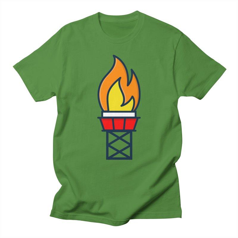 Olympic Torch Women's Regular Unisex T-Shirt by