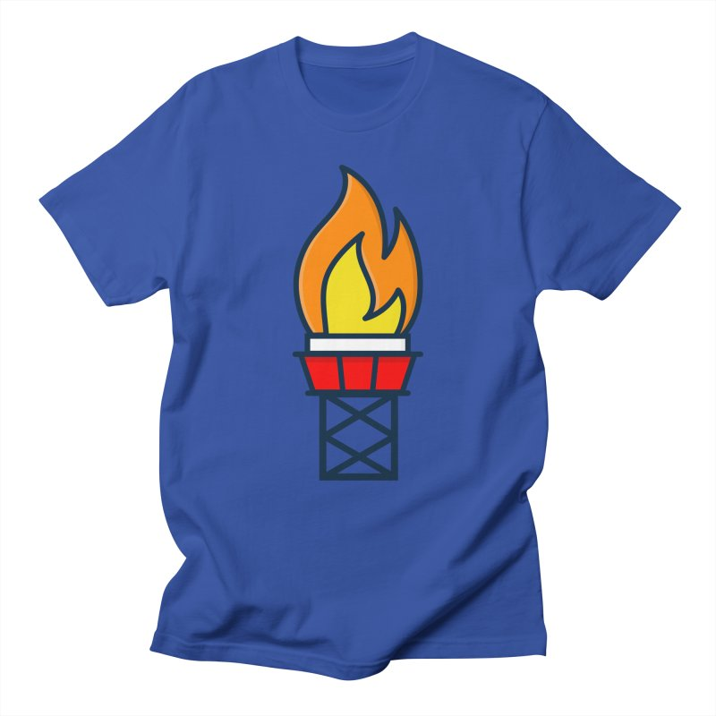 Olympic Torch Women's Regular Unisex T-Shirt by