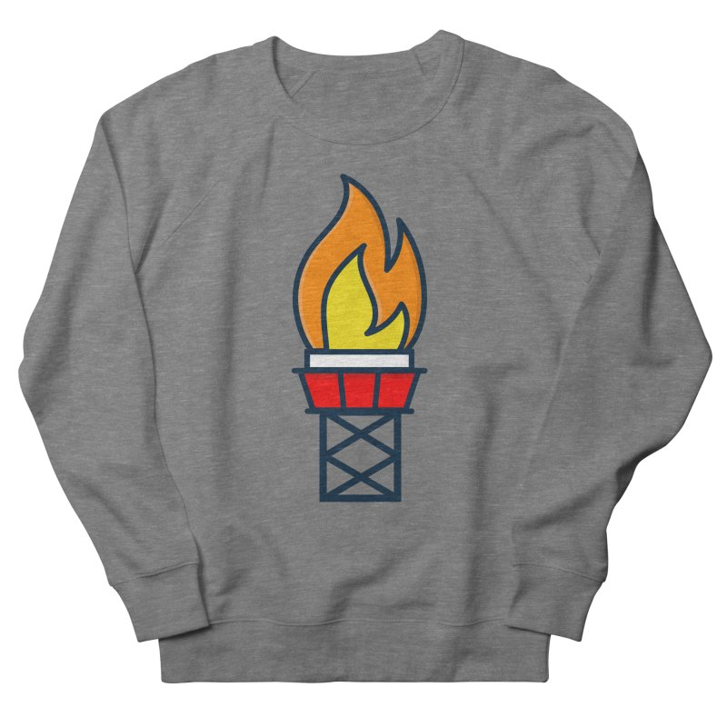 Olympic Torch Women's French Terry Sweatshirt by