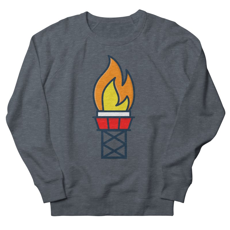 Olympic Torch Men's French Terry Sweatshirt by