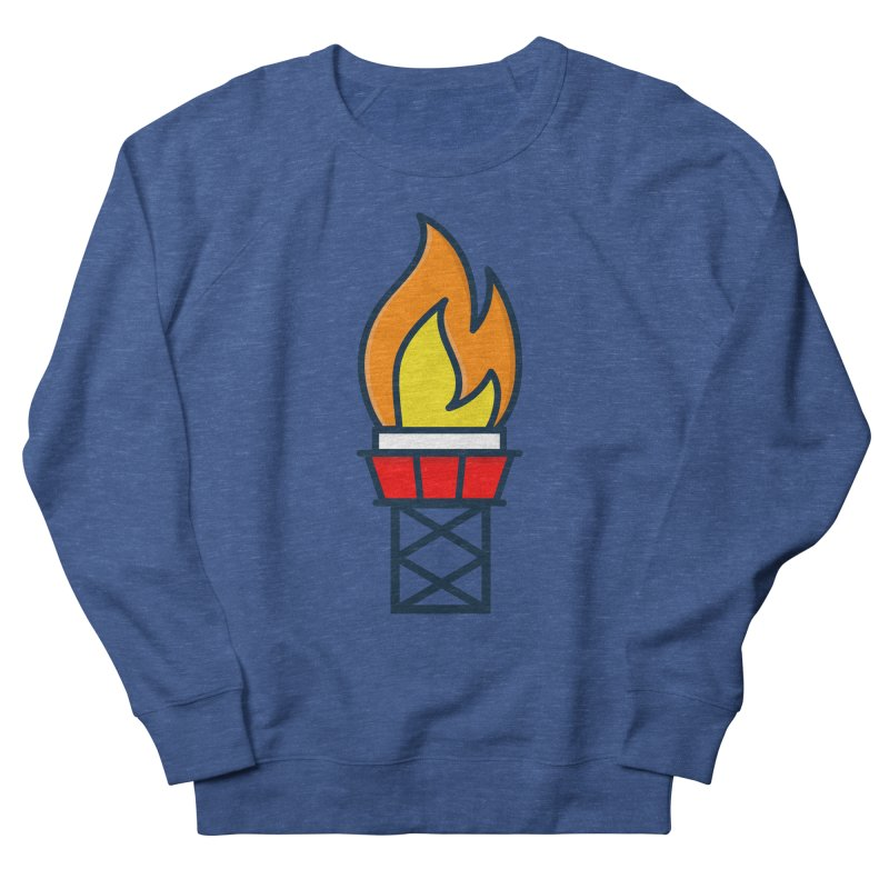 Olympic Torch Men's Sweatshirt by