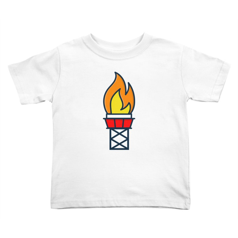 Olympic Torch Kids Toddler T-Shirt by