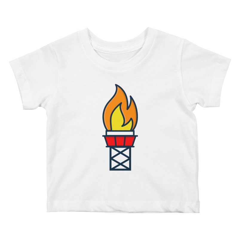 Olympic Torch Kids Baby T-Shirt by