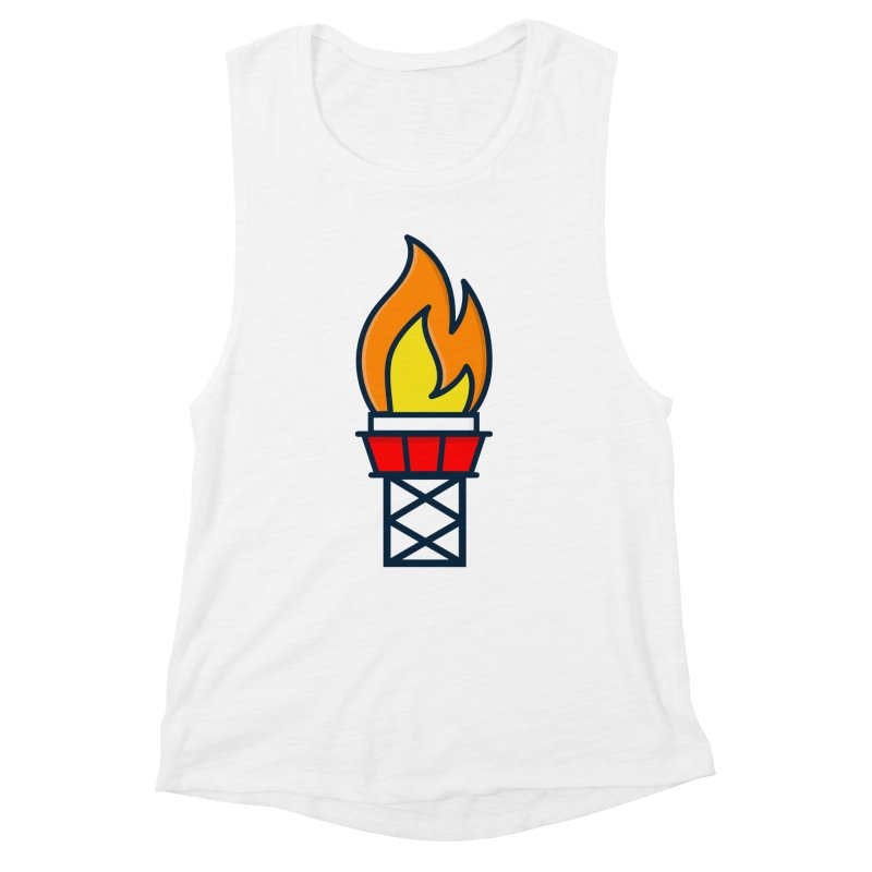 Olympic Torch Women's Muscle Tank by
