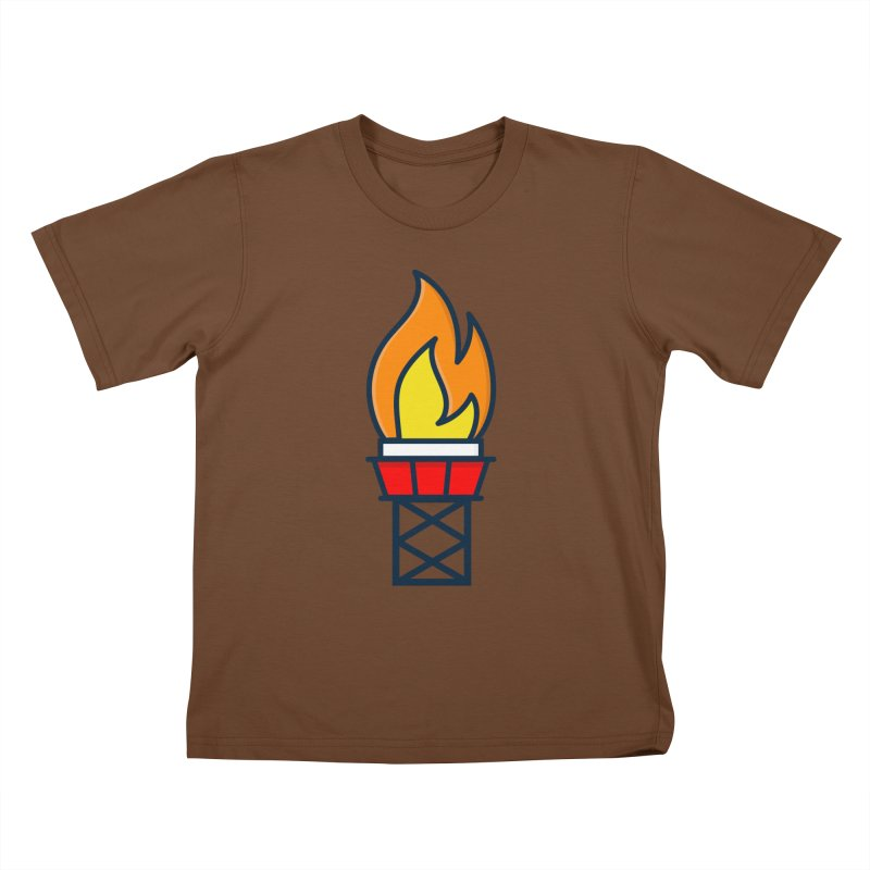 Olympic Torch Kids T-Shirt by