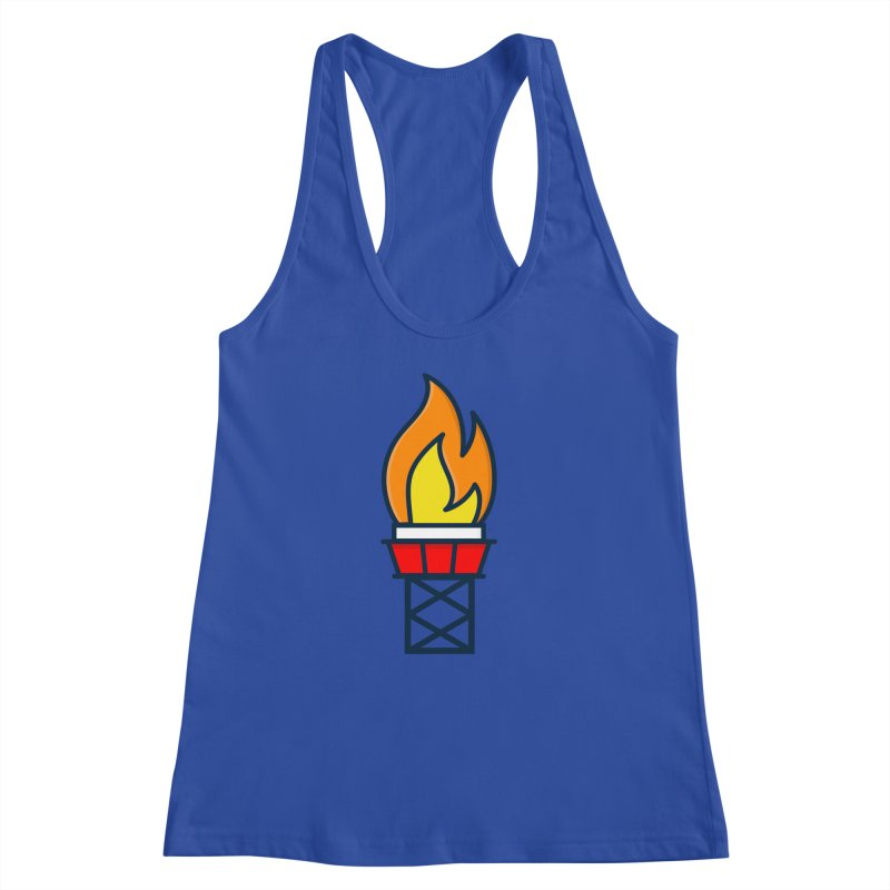 Olympic Torch Women's Racerback Tank by