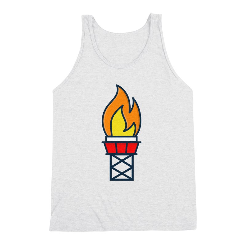 Olympic Torch Men's Triblend Tank by