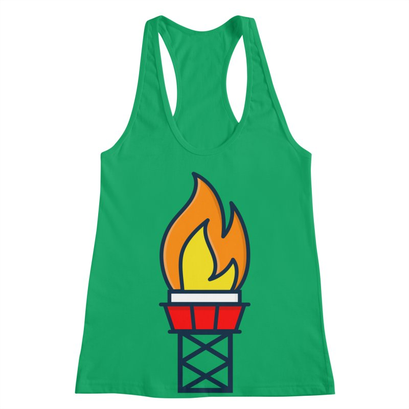 Olympic Torch Women's Racerback Tank by