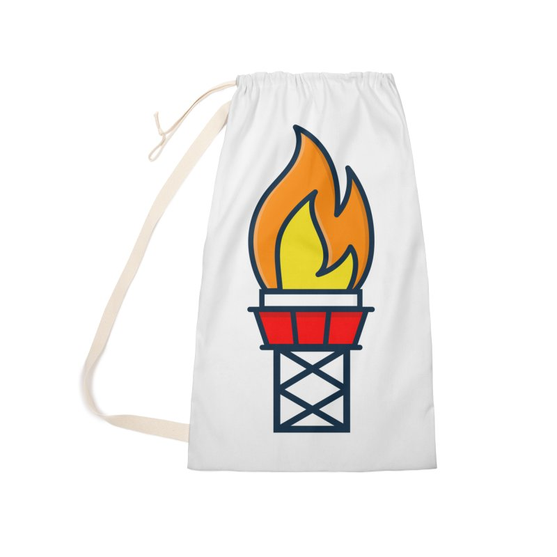 Olympic Torch Accessories Laundry Bag Bag by