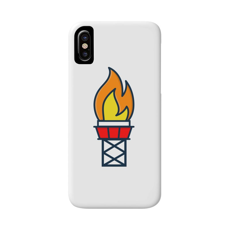 Olympic Torch Accessories Phone Case by