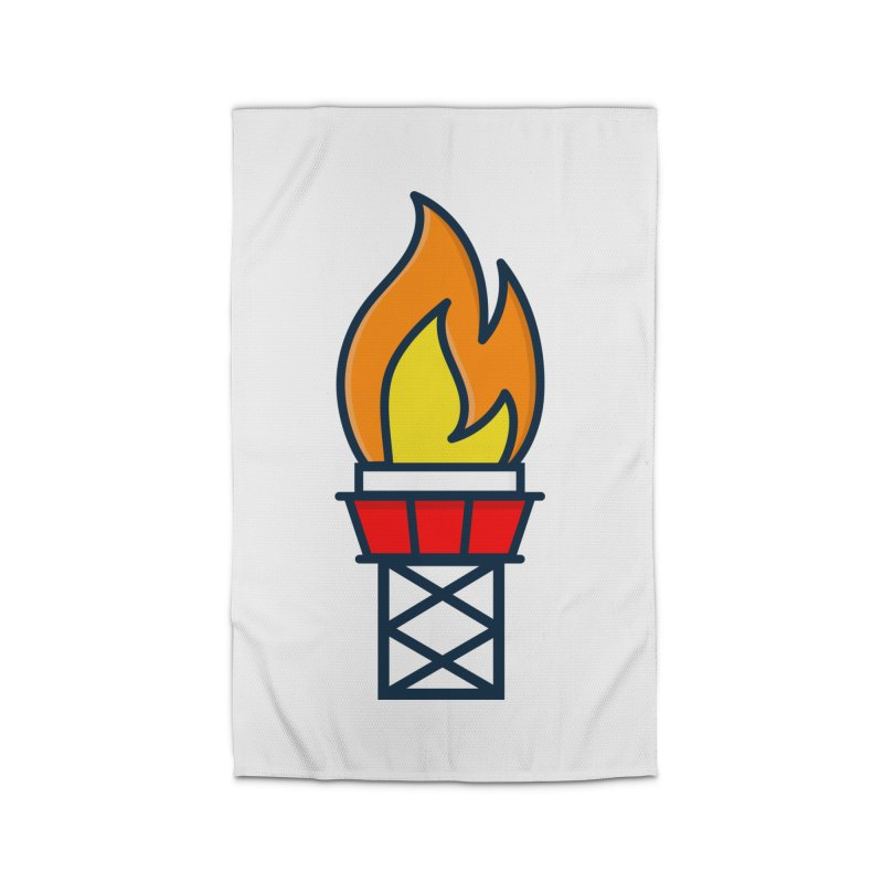 Olympic Torch Home Rug by