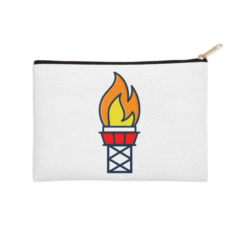 Olympic Torch Accessories Zip Pouch by