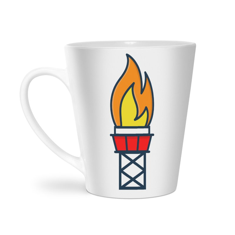 Olympic Torch Accessories Latte Mug by