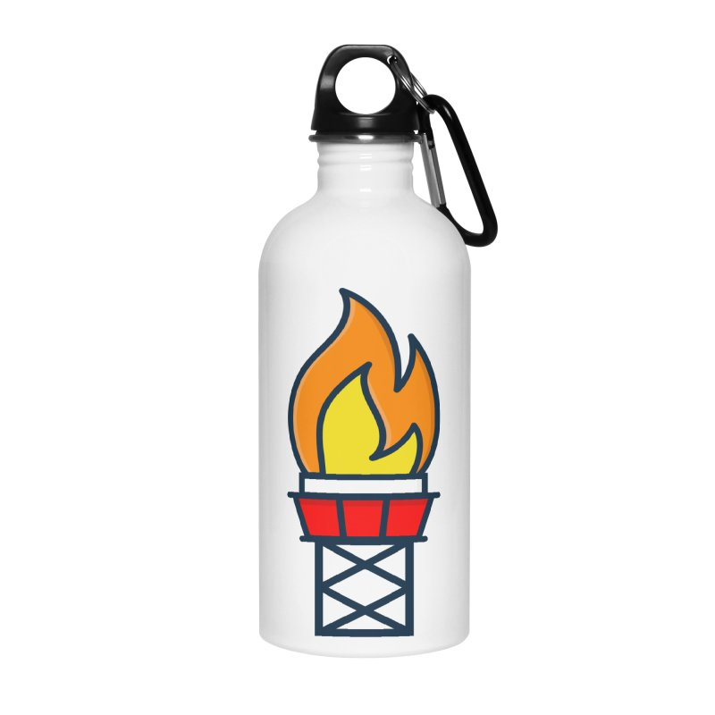 Olympic Torch Accessories Water Bottle by