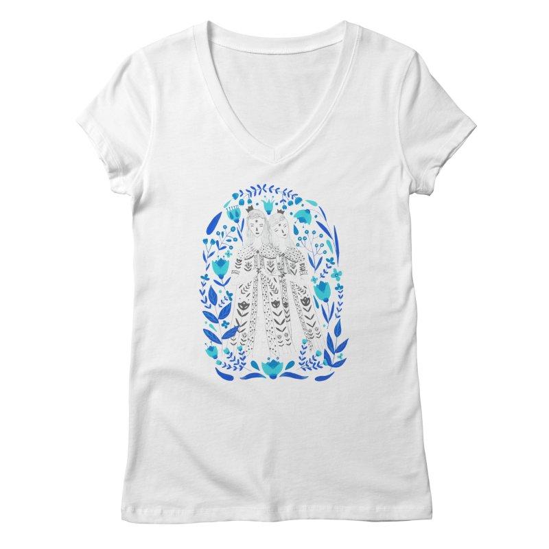Fairytale Women's V-Neck by AnastasiaA's Shop