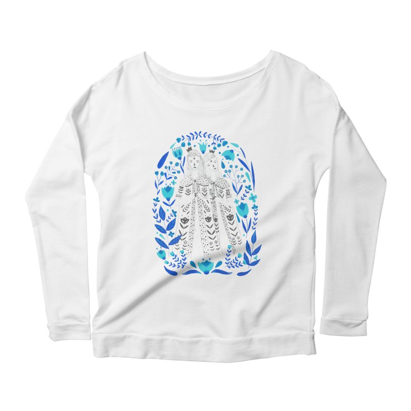 Fairytale Women's Scoop Neck Longsleeve T-Shirt by AnastasiaA's Shop
