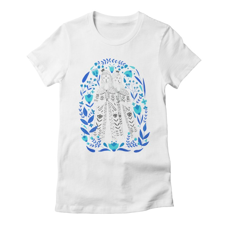 Fairytale Women's Fitted T-Shirt by AnastasiaA's Shop