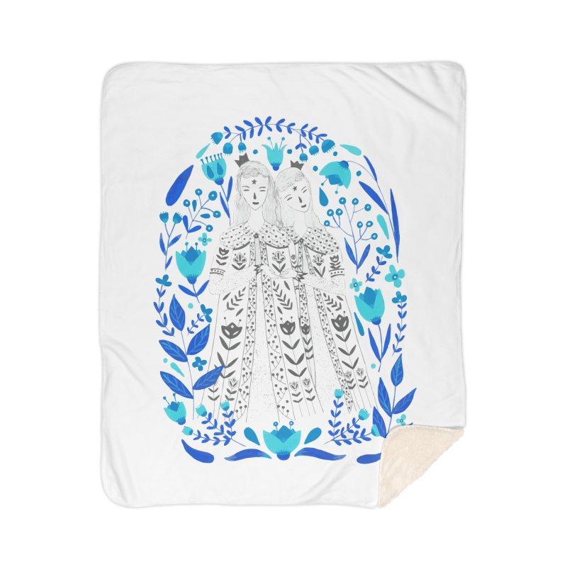 Fairytale Home Sherpa Blanket Blanket by AnastasiaA's Shop