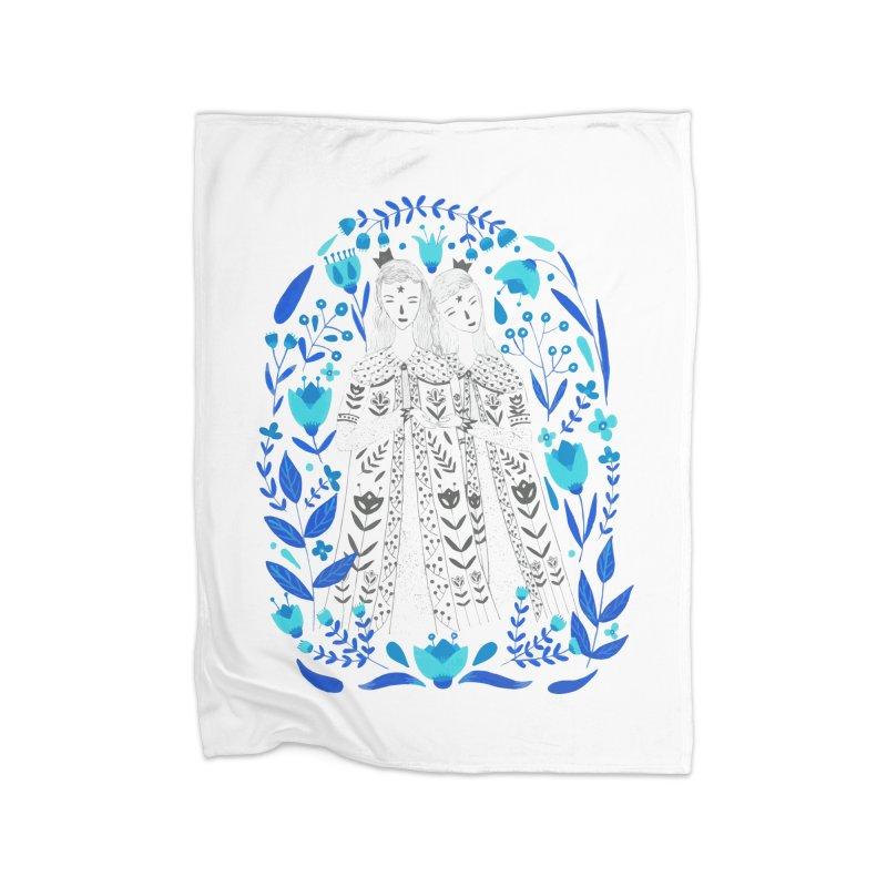 Fairytale Home Fleece Blanket Blanket by AnastasiaA's Shop