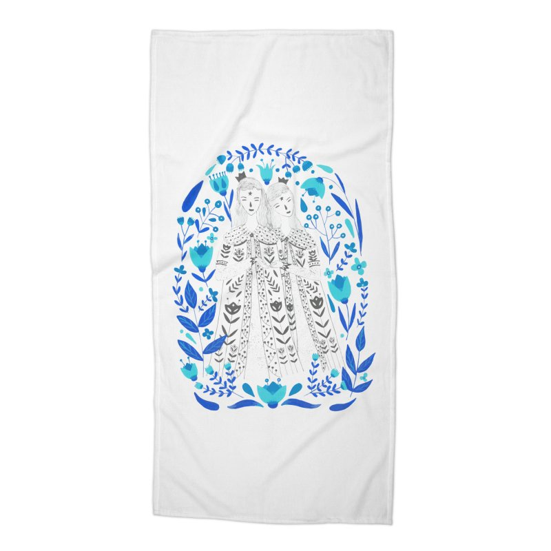 Fairytale Accessories Beach Towel by AnastasiaA's Shop