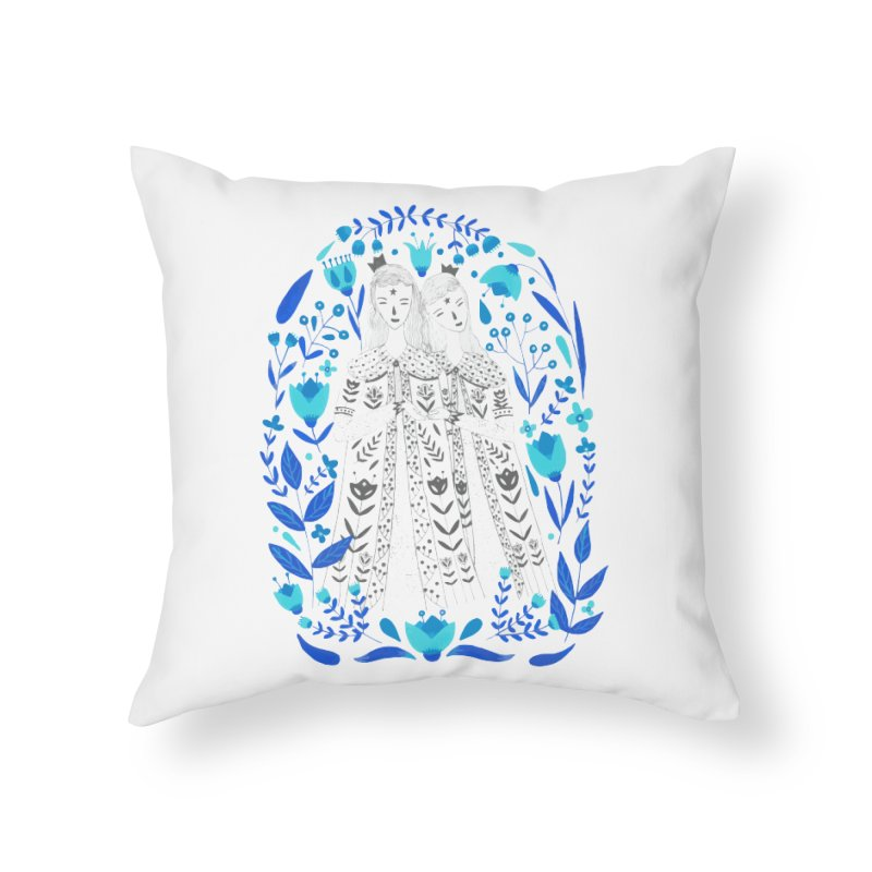 Fairytale Home Throw Pillow by AnastasiaA's Shop