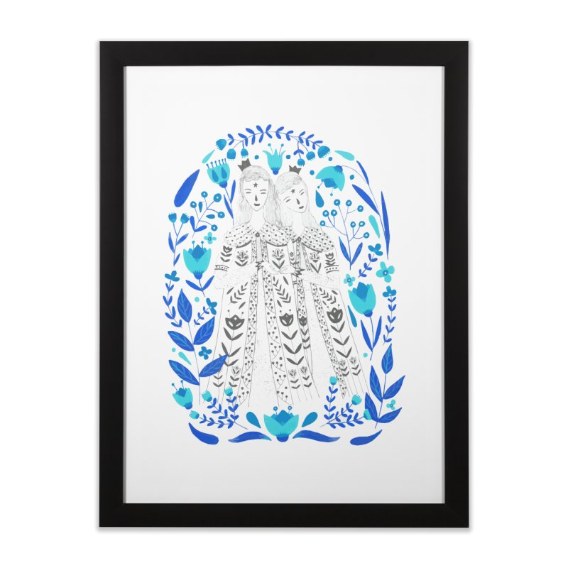 Fairytale Home Framed Fine Art Print by AnastasiaA's Shop