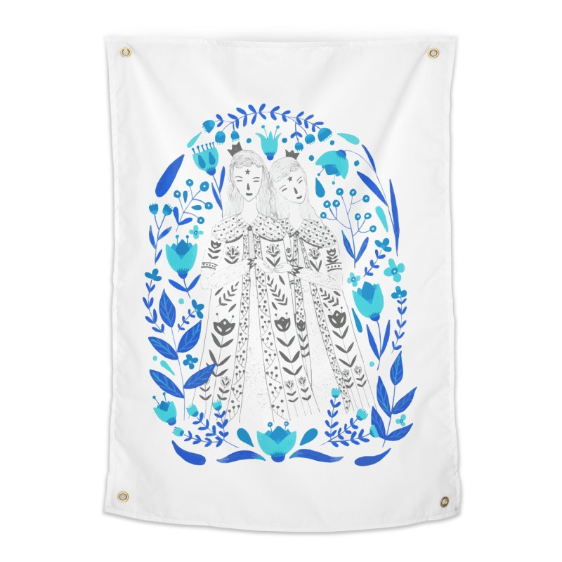 Fairytale Home Tapestry by AnastasiaA's Shop