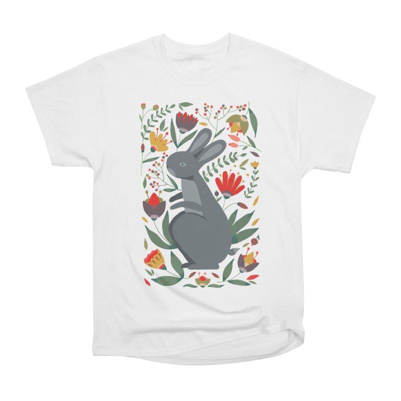 Bunny Women's Heavyweight Unisex T-Shirt by AnastasiaA's Shop