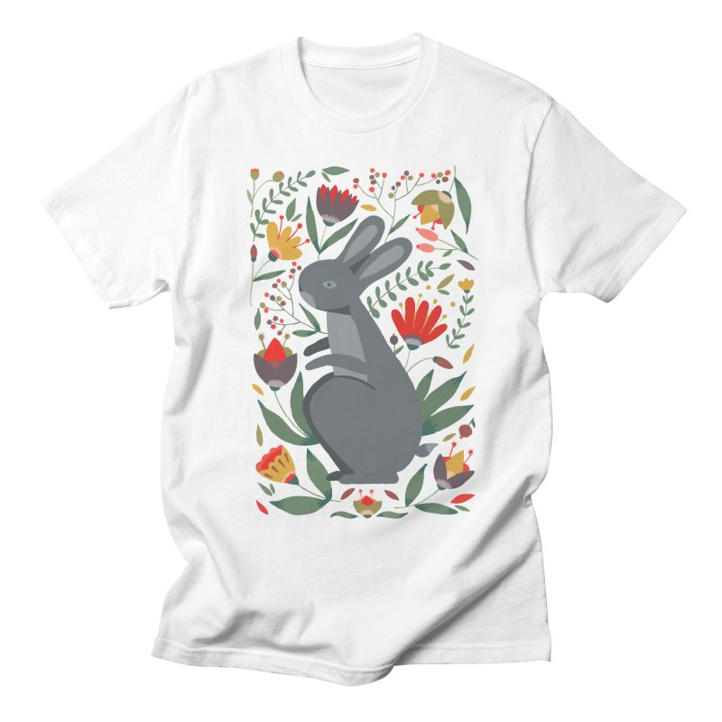 Bunny Women's Regular Unisex T-Shirt by AnastasiaA's Shop