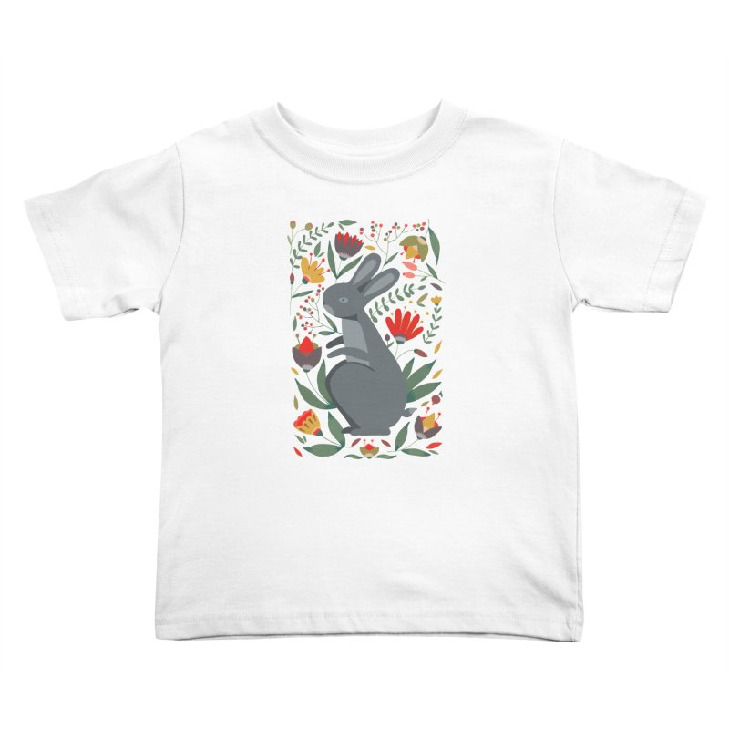 Bunny Kids Toddler T-Shirt by AnastasiaA's Shop