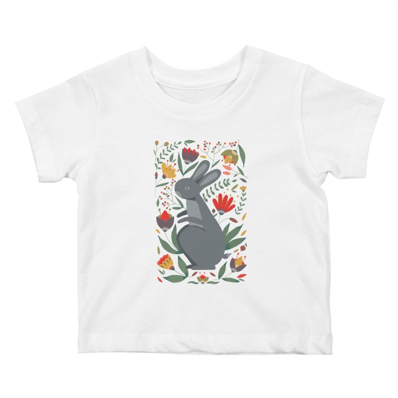 Bunny Kids Baby T-Shirt by AnastasiaA's Shop