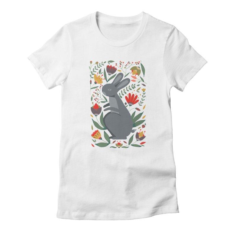 Bunny Women's T-Shirt by AnastasiaA's Shop
