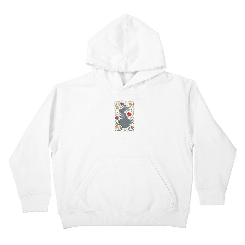 Bunny Kids Pullover Hoody by AnastasiaA's Shop