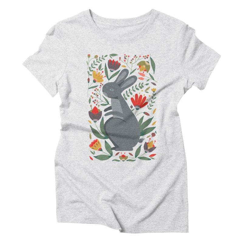 Bunny Women's Triblend T-Shirt by AnastasiaA's Shop