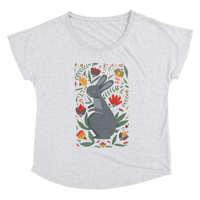Bunny Women's Scoop Neck by AnastasiaA's Shop