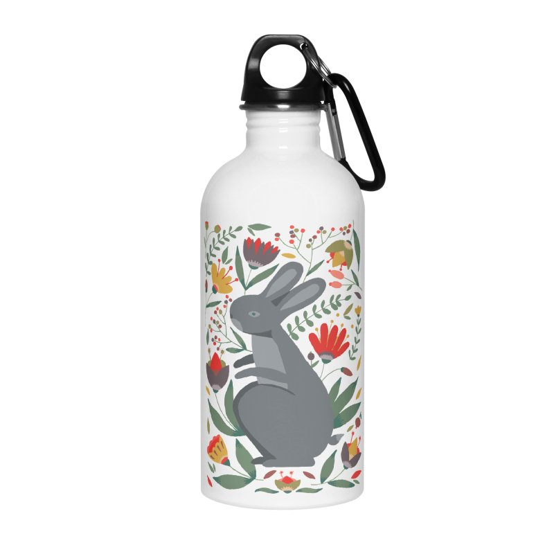 Bunny Accessories Water Bottle by AnastasiaA's Shop